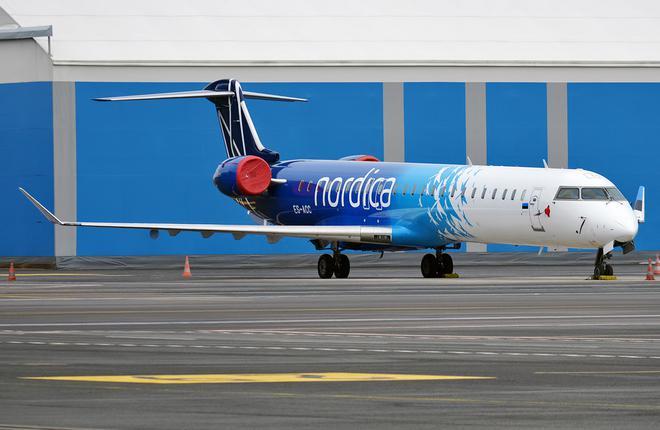 «Nordica» - лидер авиаперевозок по таллиннскому аэропорту