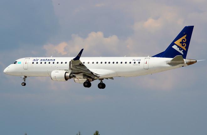 «Air Astana» заменит «Embraer E190» на более современные самолеты