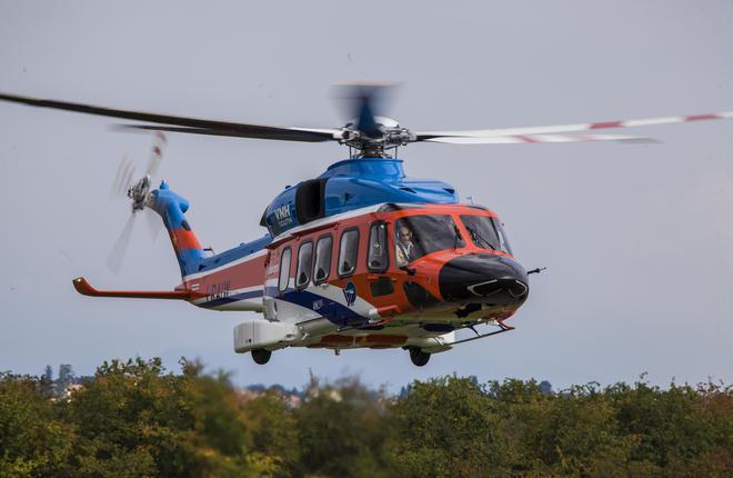 «Роснефть» получила первые 2 вертолета среднего класса «AW189»
