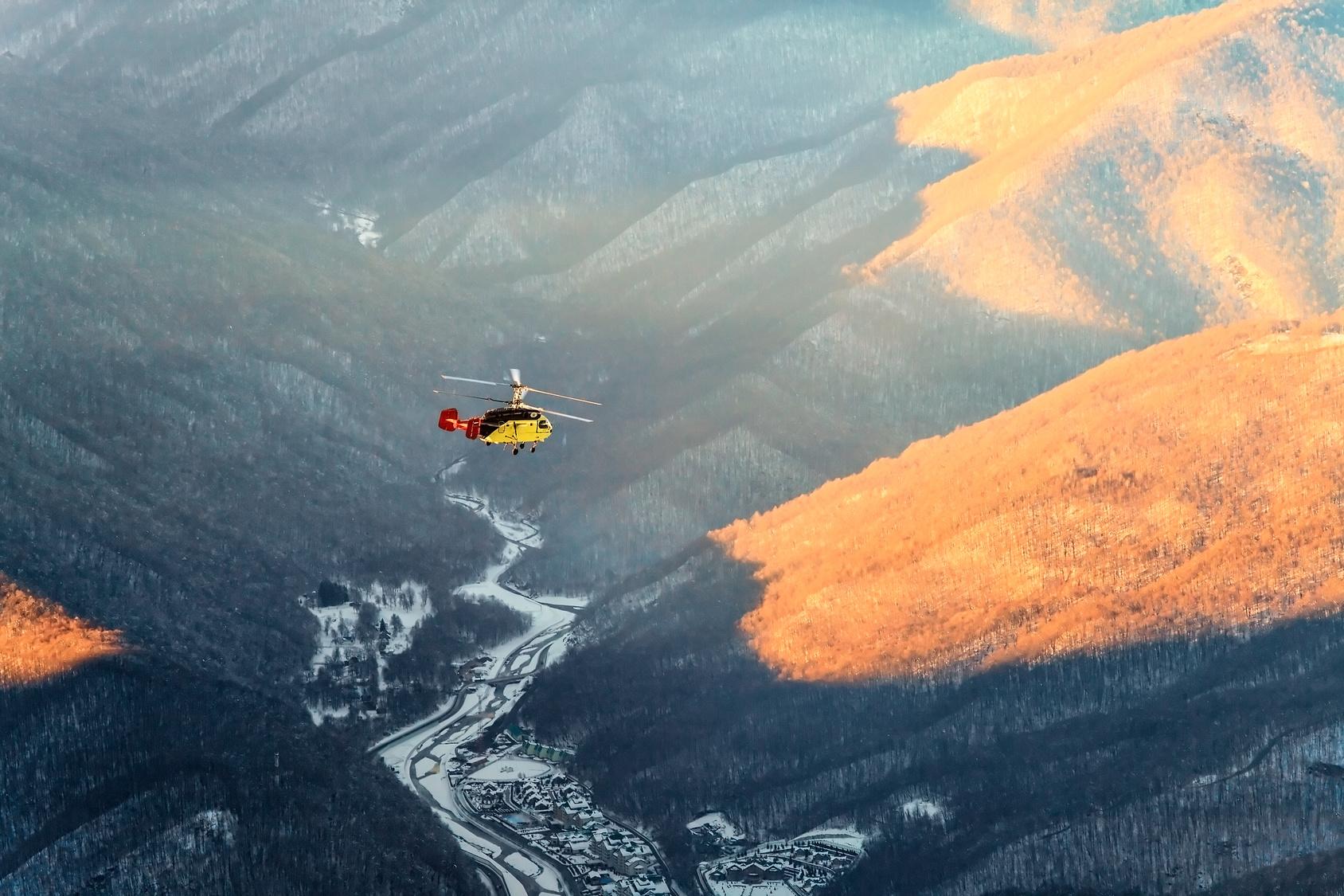 Вертолетные трансферы на Лазурном Берегу