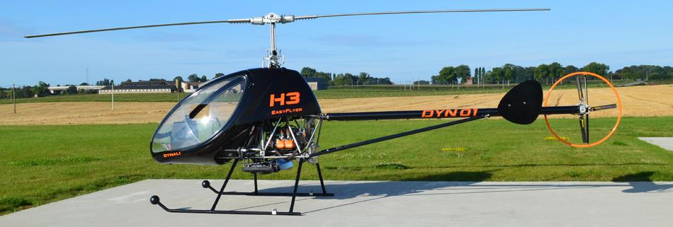 Полеты на «стрекозе»: как я стал пилотом Dynali H3